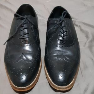 Womens Hardy Brand leather oxfords